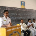 workshop conducted to create awareness about National anthem and national flag