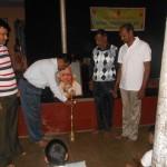 Guddappa Inagurate the Yoga Camp