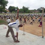 3000 ವಿದ್ಯಾರ್ಥಿಗಳಿಗೆ ಏಕಕಾಲಕ್ಕೆ ಯೋಗ ತರಬೇತಿ